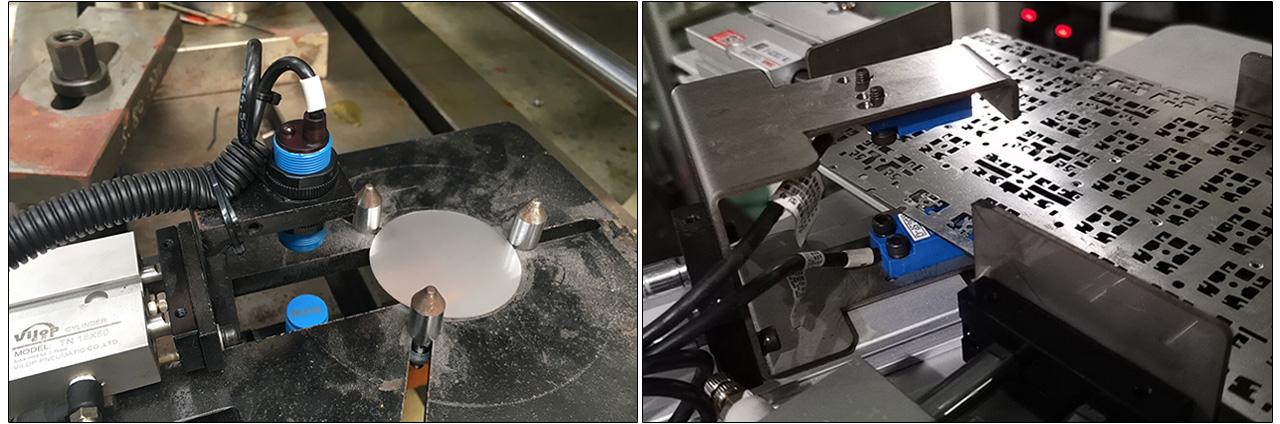 SP-C不锈钢冲压拉伸重叠检测案例