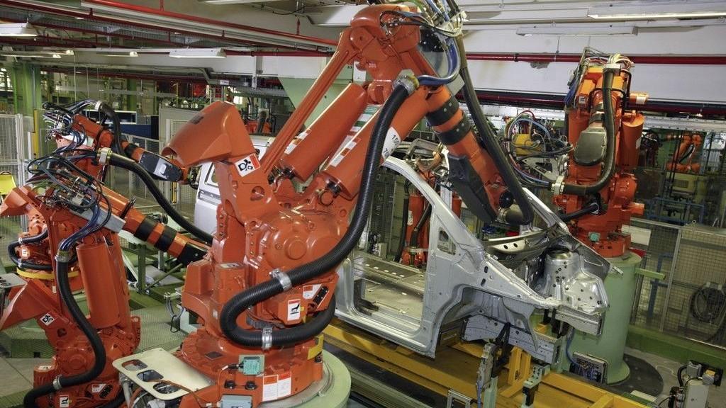 冲压机械手.冲压机器人自动送料检测器--应用案例视频--