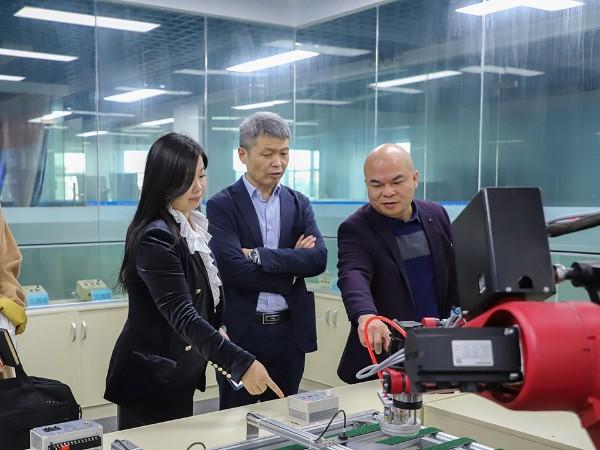 热烈欢迎中国锻压协会领导莅临我司参观指导