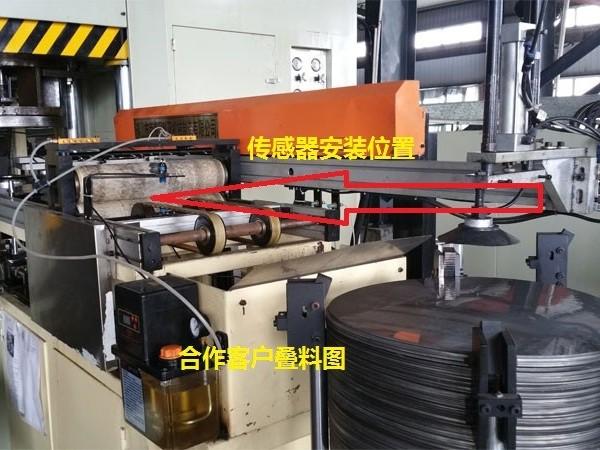 广东江门新会某某客户黑金刚双片检测器合作案例
