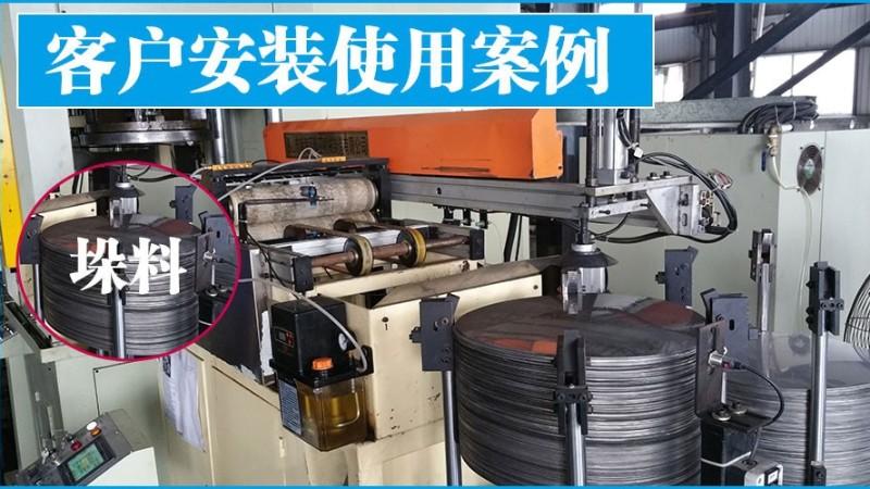 佛山南海某五金配件设备 金属双片重叠检测仪器案例