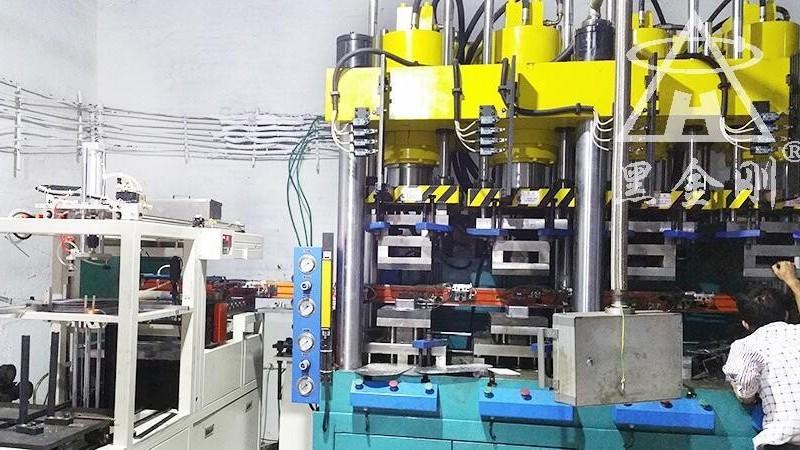 深圳某五金配件冲压黑金刚双张检测器合作案例